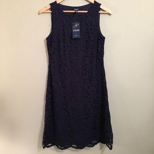 NWT Chaps Lace Shift Dress